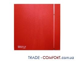 Вентилятор Soler & Palau SILENT-100 CZ RED DESIGN -4C
